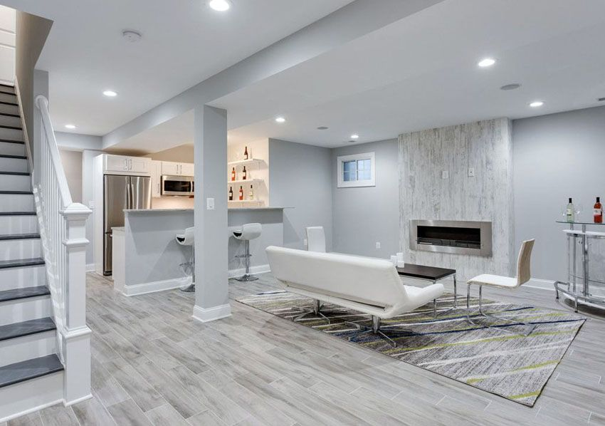 Ideas for a Finished Basement PA