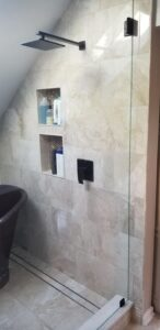 small bathroom remodel ideas niches