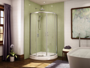 Small Bathroom Remodel Ideas Curved Shower
