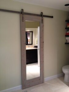 Barn door Bathroom Ideas